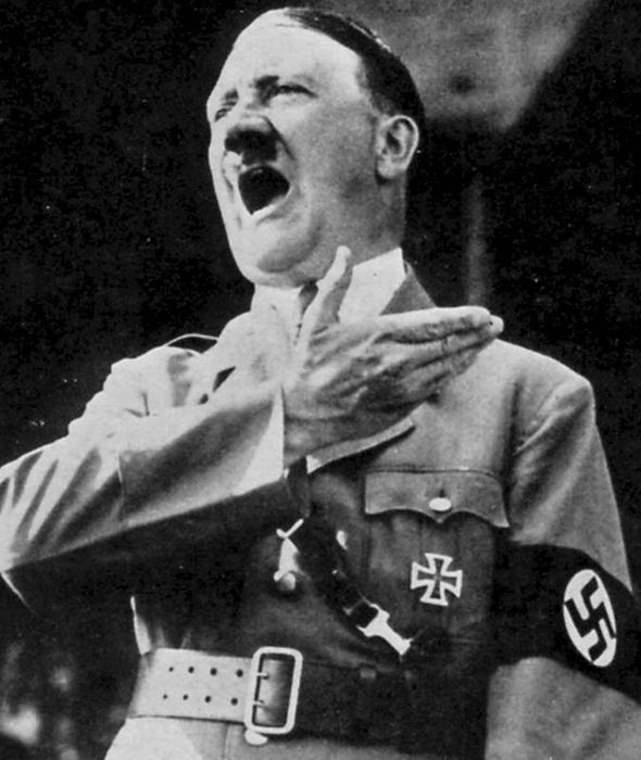 On April 21, 1945 eight planes were apparently loaded with the Führer's personal effects