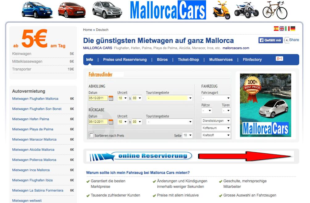 Mallorca Mietwagenfirma