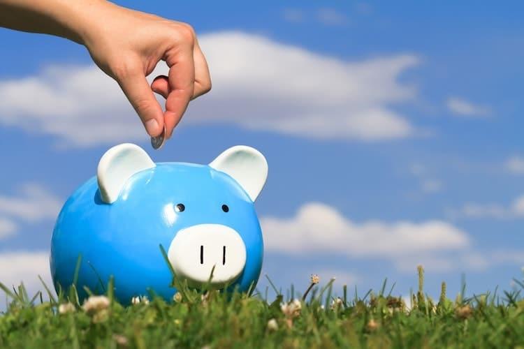 Geld ansparen und reich werden