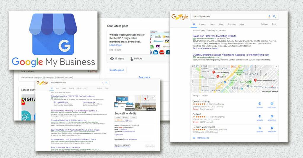 Flin y Asociados - Comprar ficha Google Mapa