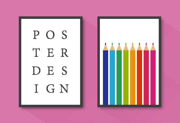 Diseño gráfico de posters