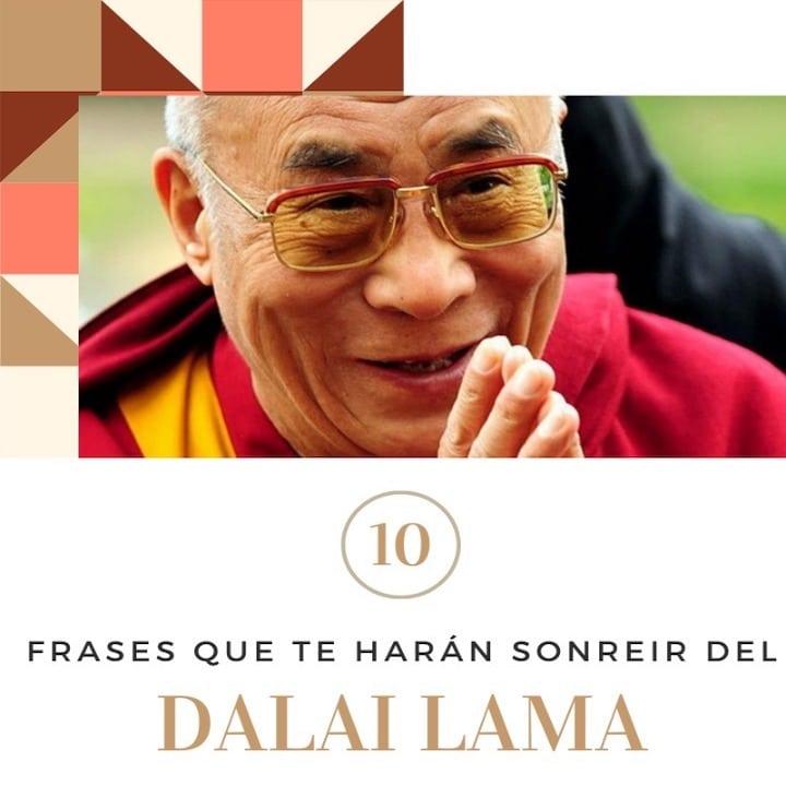 10 frases del Dalai Lama que te sacarán una sonrisa