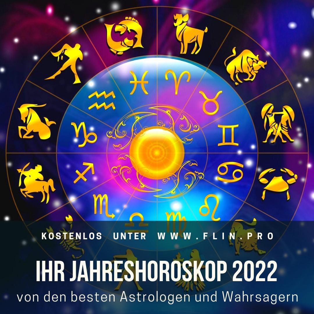 Astrologische Vorhersagen für das Jahr 2022 für alle 12 Sternzeichen